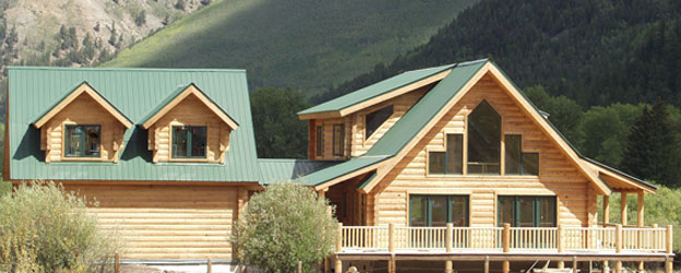 Cedar Log Homes by Liberty Log Cabins - Custom Precut Cedar Logs ...